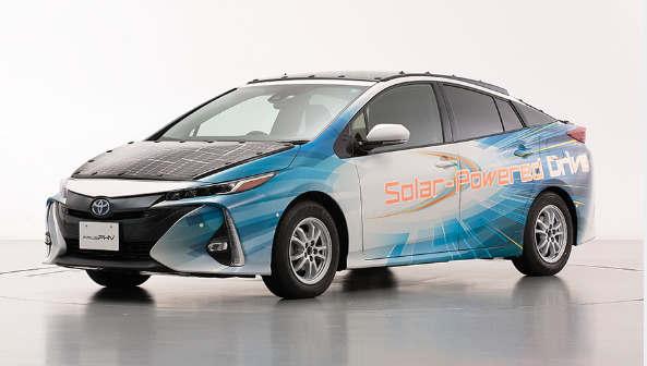配备高效太阳能电池的电动汽车公路试验计划
