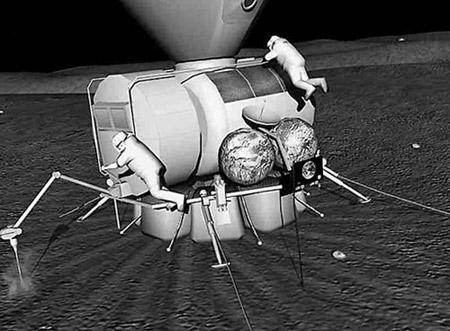 观看日本的Hayabusa2野生粉碎并抓住小行星Ryugu登陆