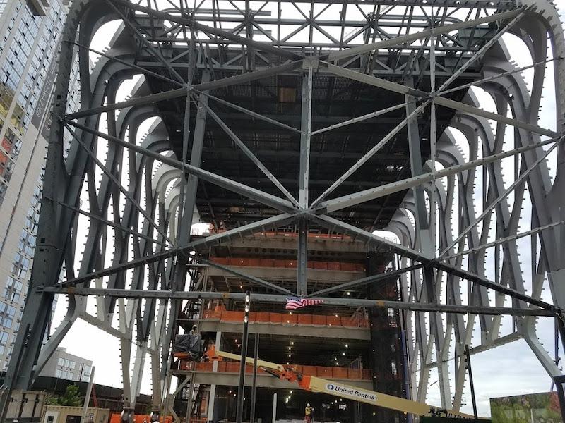 位于纽约西侧的多艺术中心Shed在建筑和资金方面取得了进展