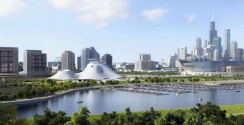 MAD Architects的乔治卢卡斯博物馆设计终于获得了绿灯