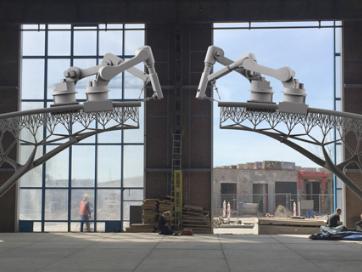 乔里斯拉曼设计的钢制运河桥将由
