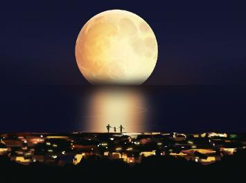 最圆月8日现身 本年度最大满月