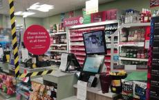 CJ Lang完成了苏格兰Spar商店的安全措施