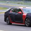 起亚测试Stinger运动型轿车的更新版本