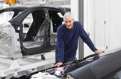 詹姆斯戴森正在处理公司取消的电动汽车项目